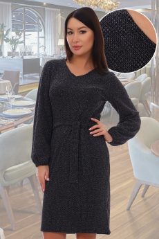 Платье с люрексом Натали